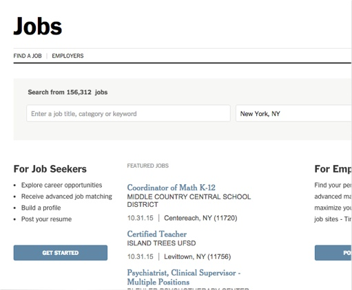 12 Sites To Find Jobs In New York City Careercloud