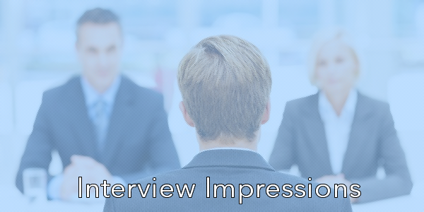 how to leave a strong lasting impression in your job interview