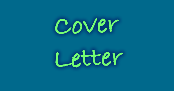 quick and easy cover letter