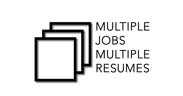 how to write a resume for multiple jobs at one company careercloud
