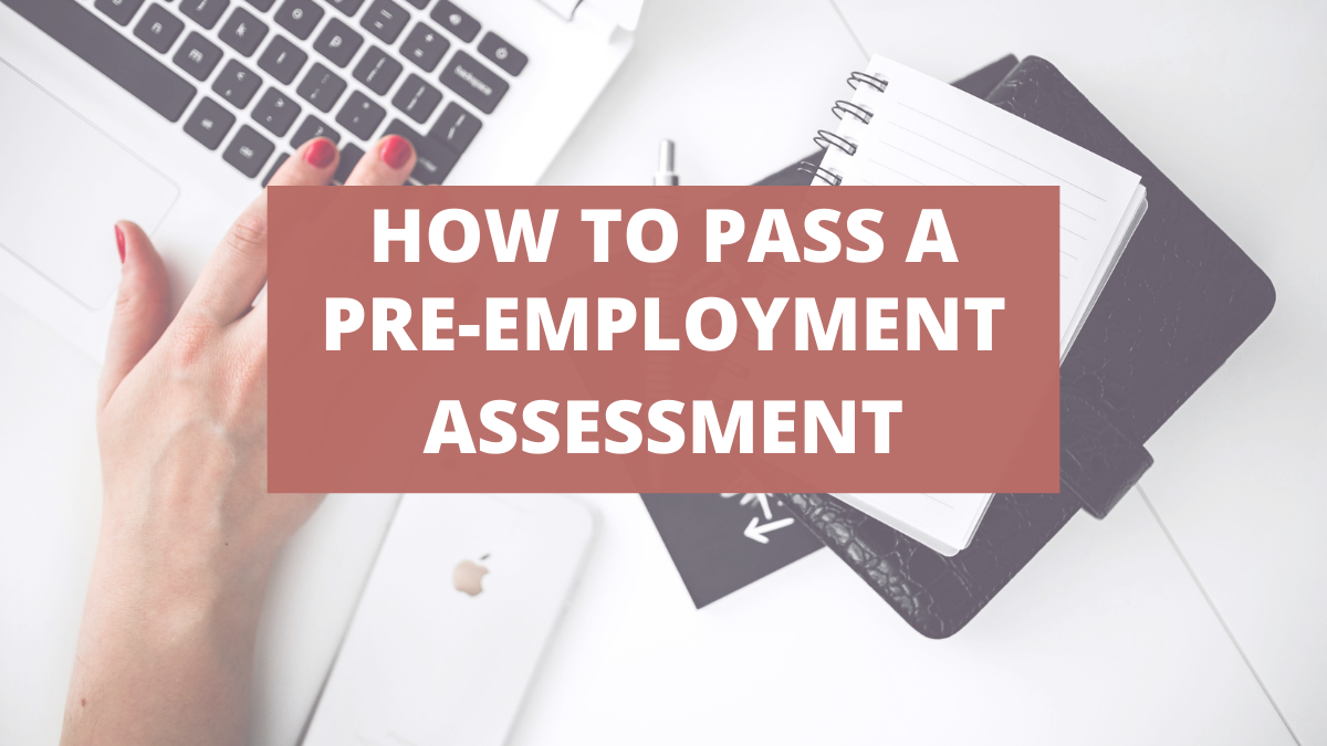 How to Pass a Pre-Employment Assessment — CareerCloud