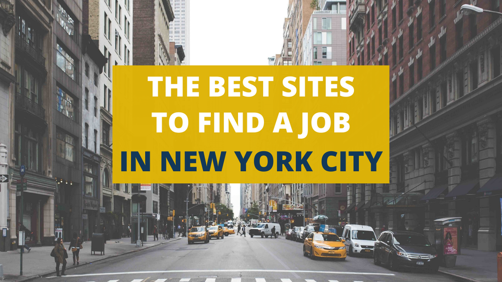 finding a job in a new city