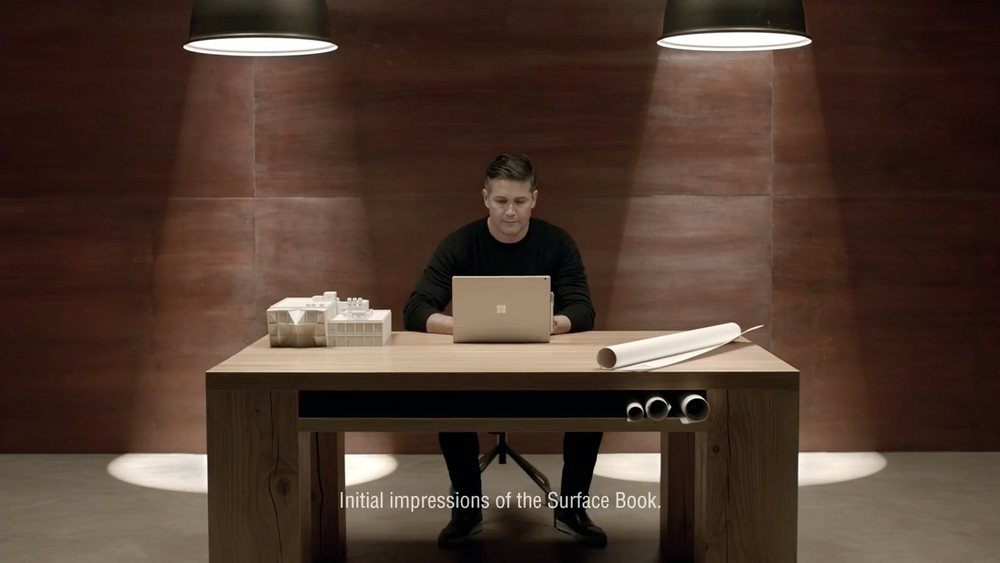Microsoft: Surface Book | ad
