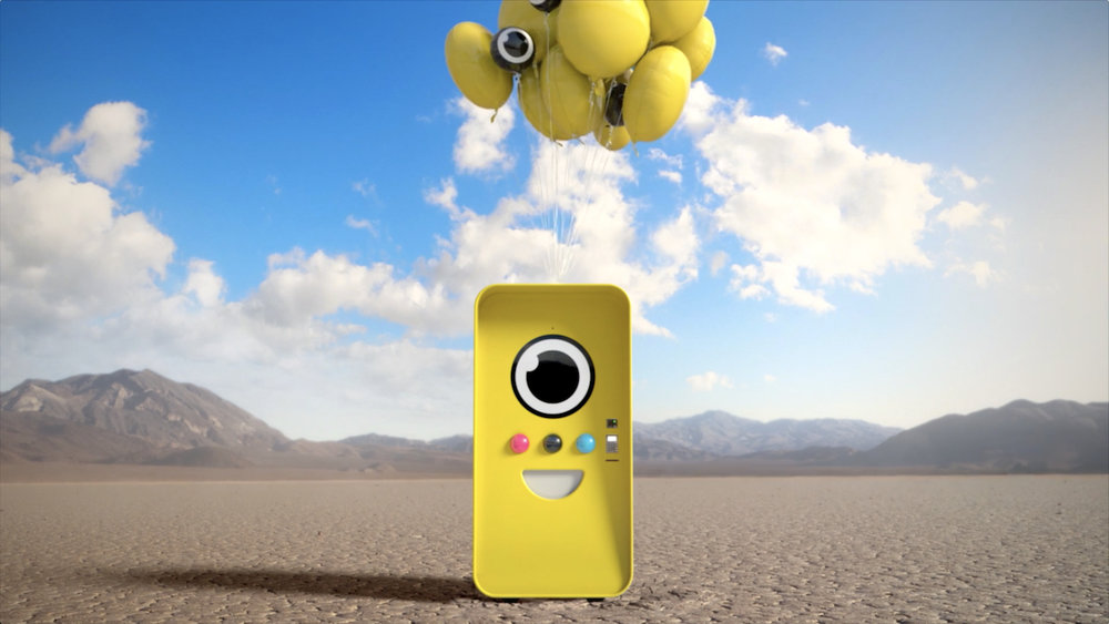 Snapchat Spectacles: Bot Landing | ad