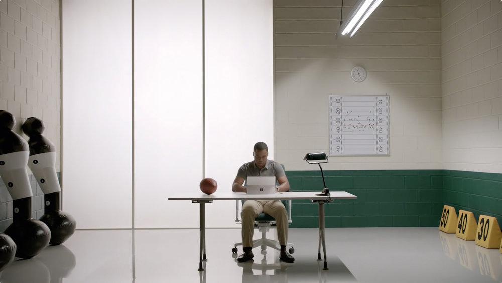 Microsoft: Pro Scout Trey Brown | ad