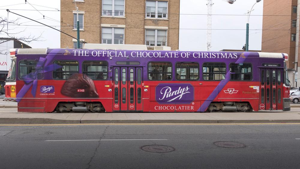 Purdy's 2015 Streetcar wrap