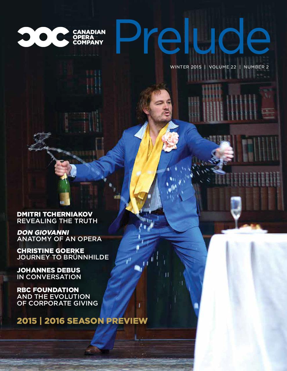 COC 'Prelude' members magazine