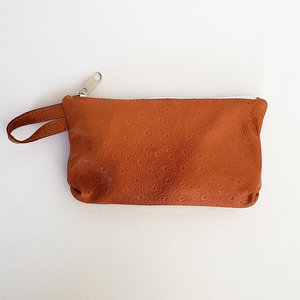 6899812f17f9 Salvaged Leather Phone   Accessory Pouch