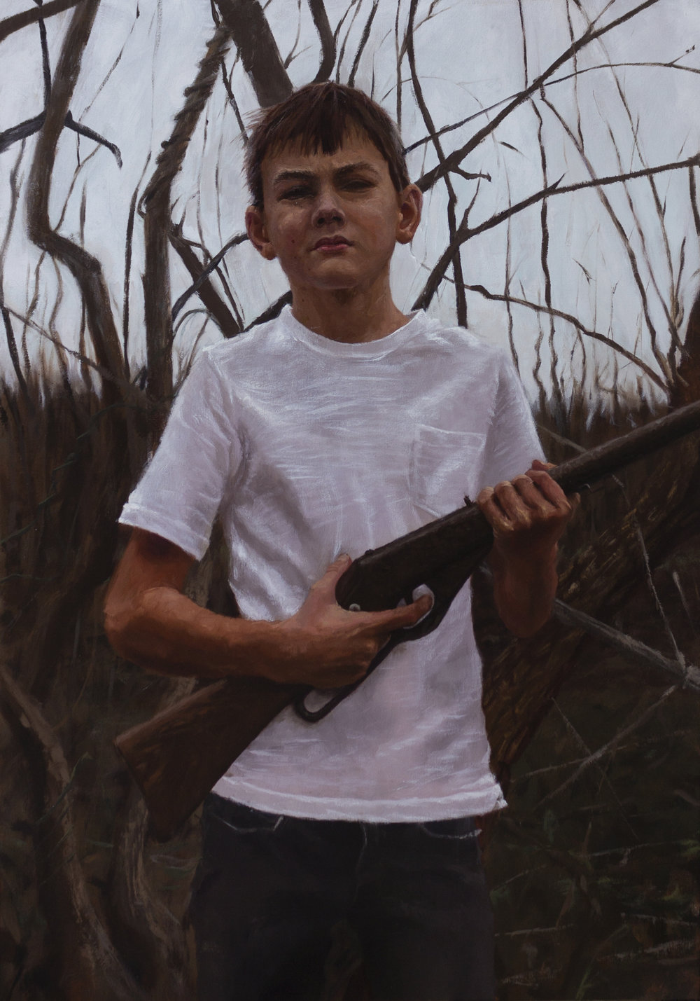 Cold Dead Hands (Child with Gun)