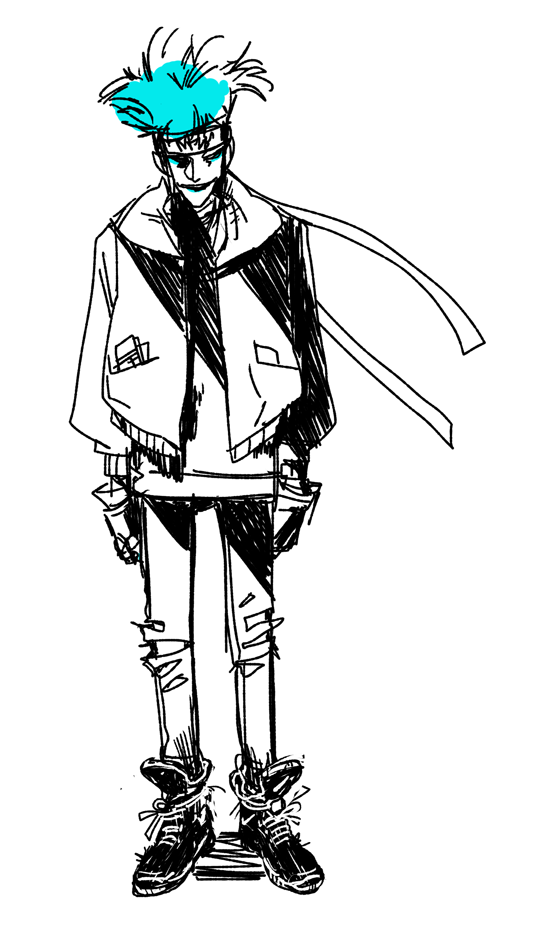deads draws impossible jackets, the tumblr