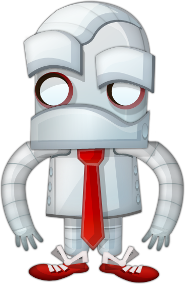 drawn by request, a agarrison keillor-esque robot