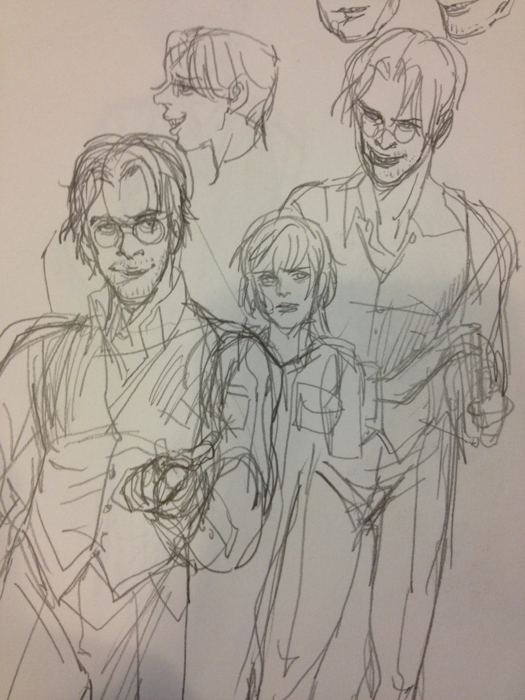 Forgot I drew this. Some gross vincents from SH3