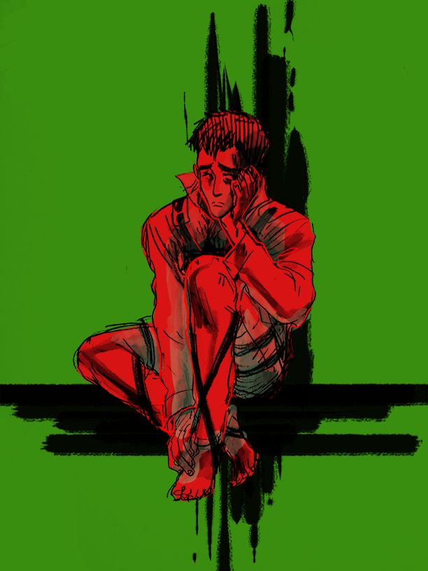 berthold floating on colored background, take 1393814
