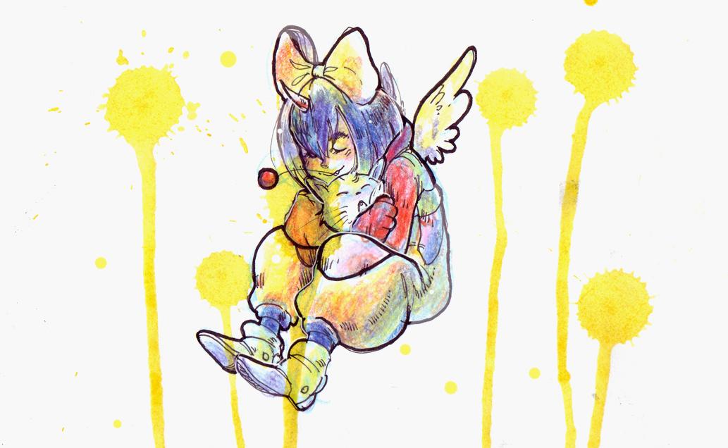 An Eiko drawn for my friend  bee ~~