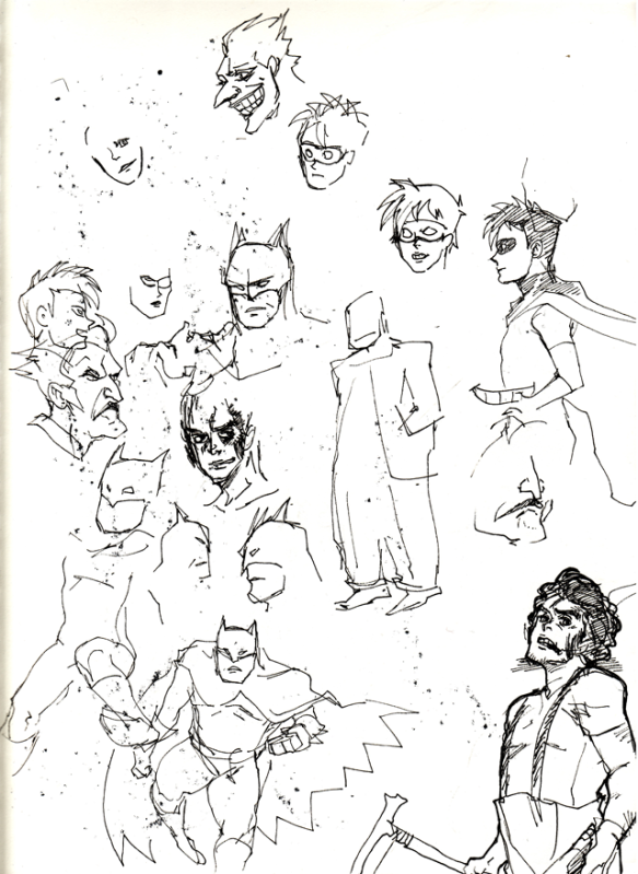 TERRIBLE BATMANS from some past May