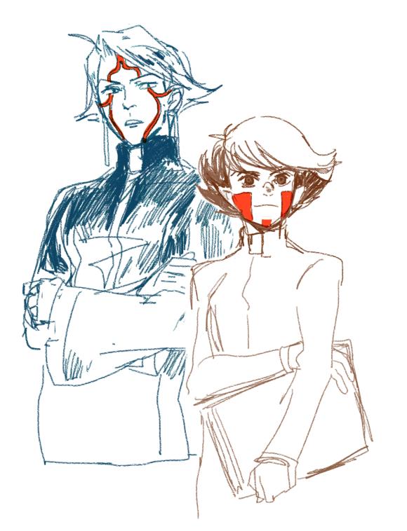 Raphael and Tabris