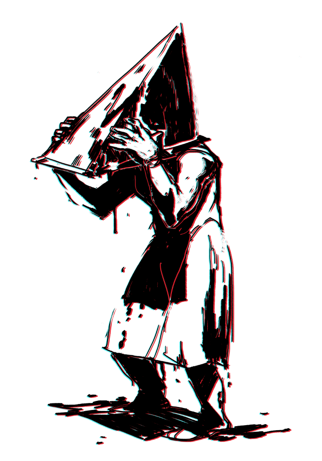 probably the only time I'll draw pyramid head.