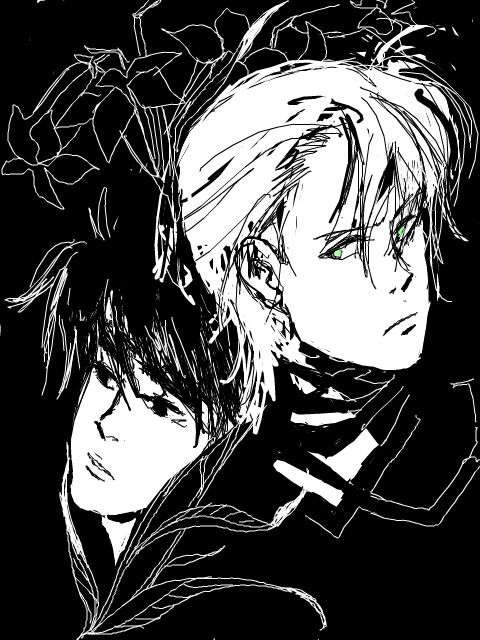 tegaki e OLD AS SIN art dump incoming    banana fish
