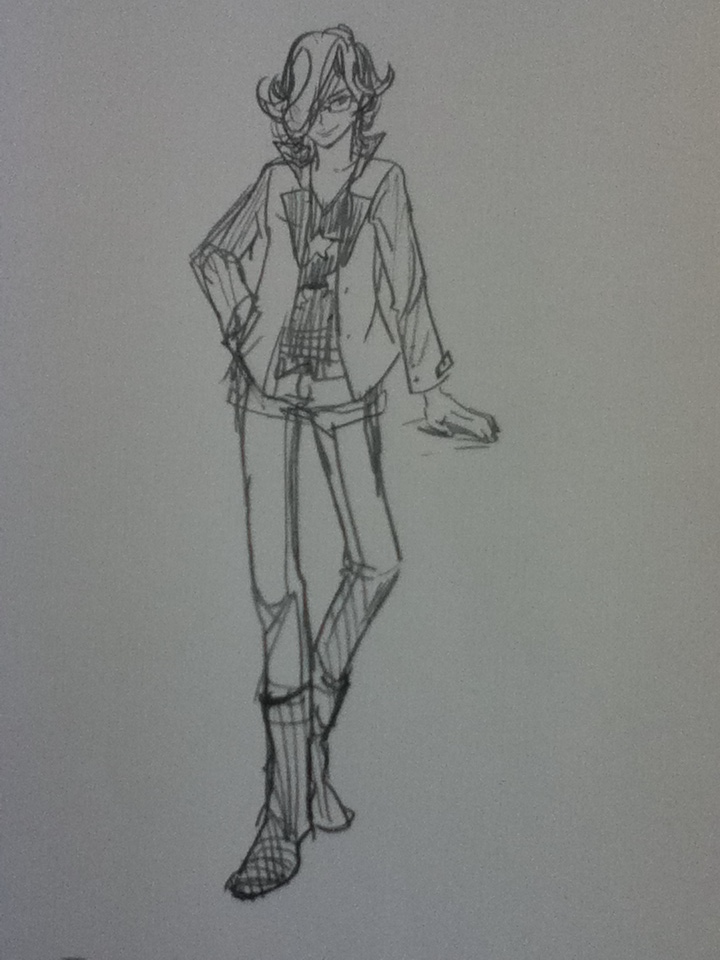 A ridiculously long thin barnaby with no reference whatsoever