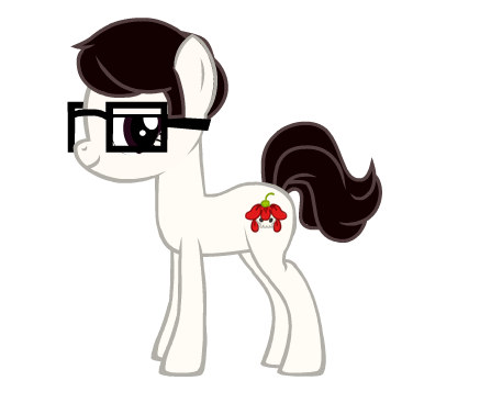 deadspony, or nullpony, made with  generalzoi's MLP Creator