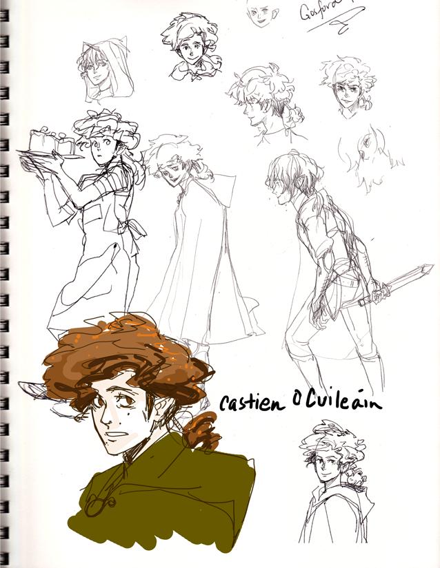 first Castien doodles.