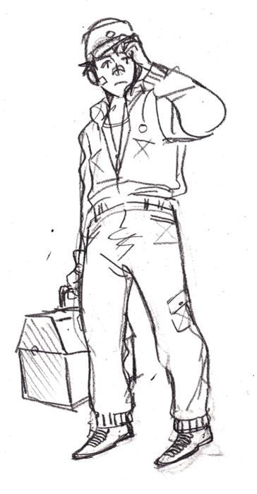 darryl original sketch