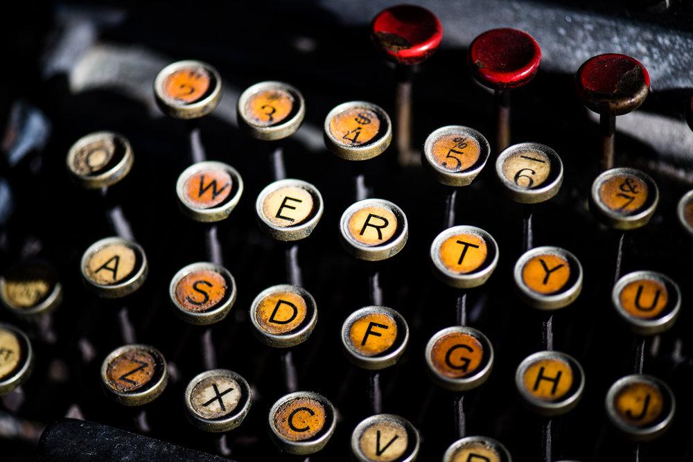 Philadelphia Typewriter -