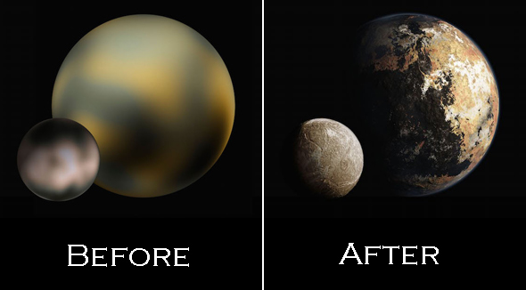 New detail of Pluto