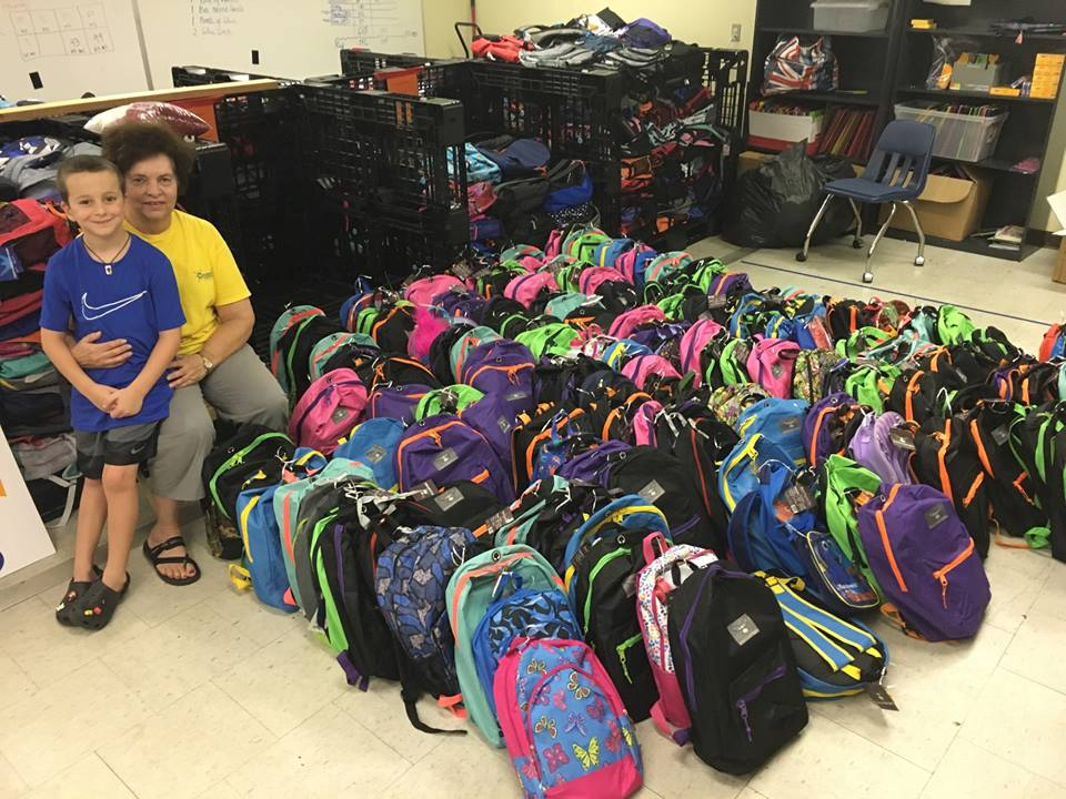 Copy of 150 Backpacks Donated to Give a Kid a Chance