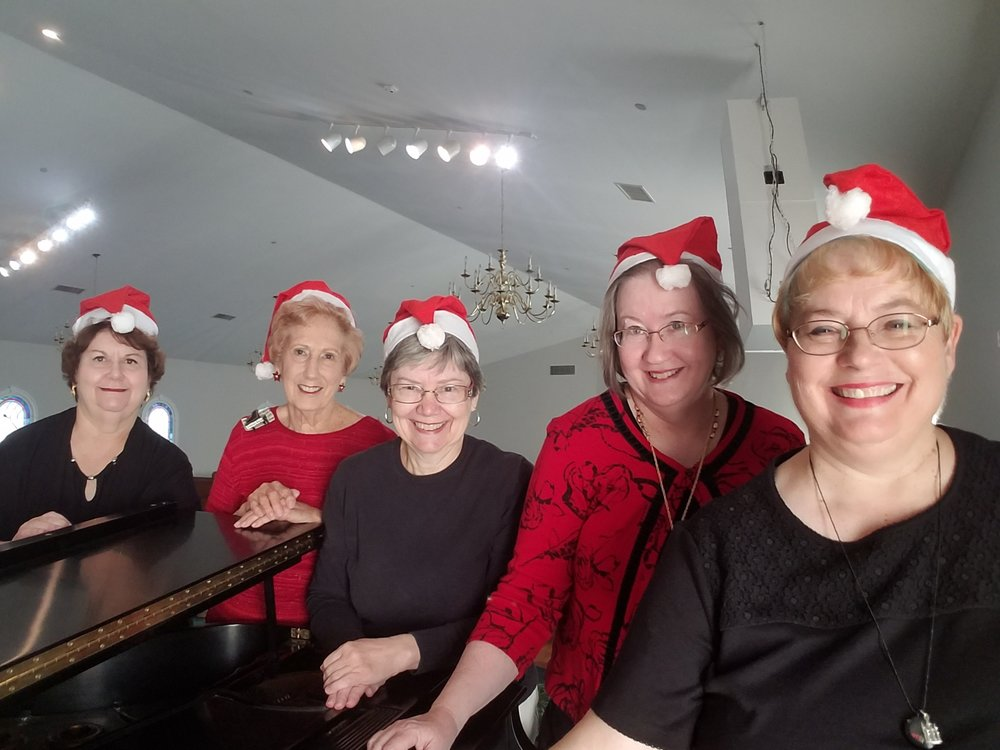 Keyboards at Christmas