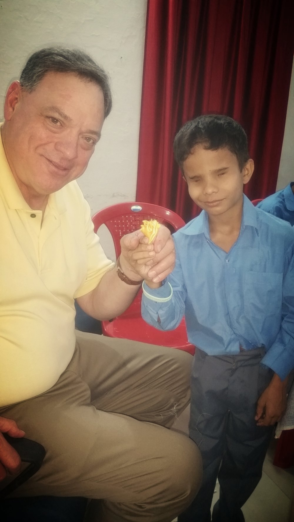 Pastor Rob in India