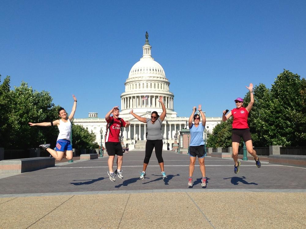 CITY RUNNING TOURS Washington DC