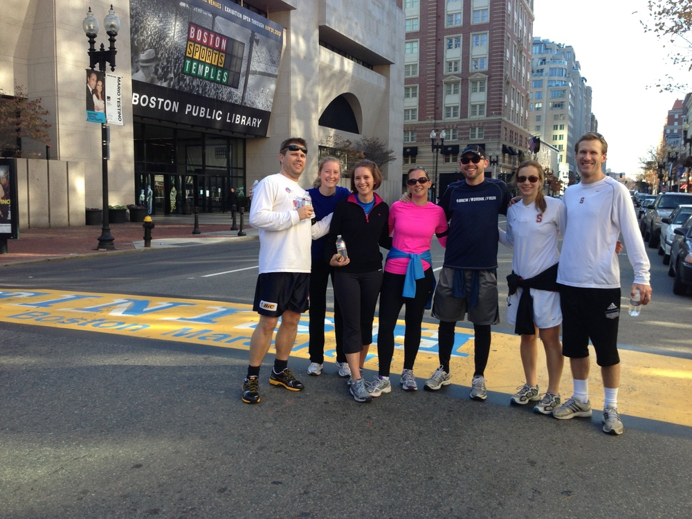 ORGANIZE YOUR NEXT CORPORATE OR SOCIAL GROUP RUNNING TOUR IN BOSTON