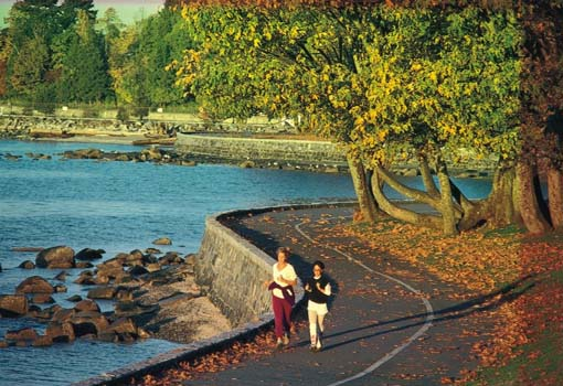 PERSONALIZED VANCOUVER RUNNING TOUR      OFFERED EVERYDAY