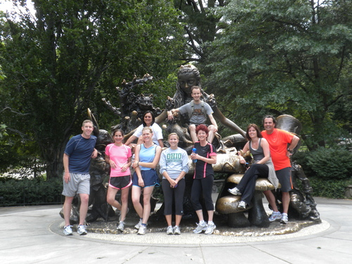 CENTRAL PARK TOUR - $40      SUN & THURS @ 7 AM  /MON, WED & SAT @ 8AM