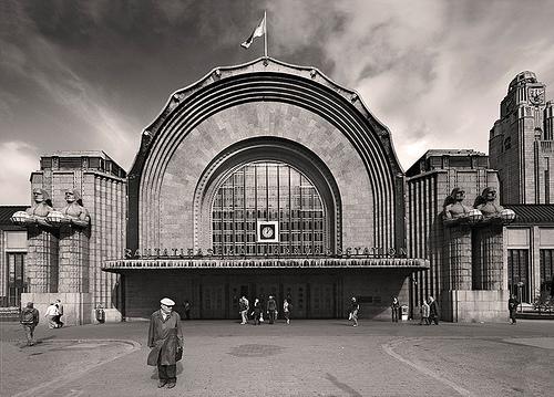 Eliel Saarinen,Helsinki Railway Station, 1907-1919