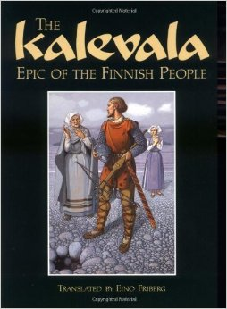 Kalevala by Elias Lönnrot, (FIrst Edition 1935), Pictured is 2004 Edition published by Pennsylvania State Univesity.