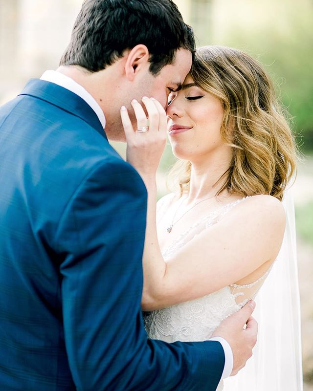 Lauren and I can't take a serious photo to save our lives so when couples want to be goofy in front of the camera we LOVE it!  Swipe left to see the cute moment that quickly followed with Kevin being the adorable goofball he is. • Venue: @camplucyoncreek  Coordinator: @simplysweetwed  Hair & Makeup: @makeupbyadrienn  Florals: @whimhospitality  Wedding Dress: @bhldn  Groom's Suit: @menswearhouse