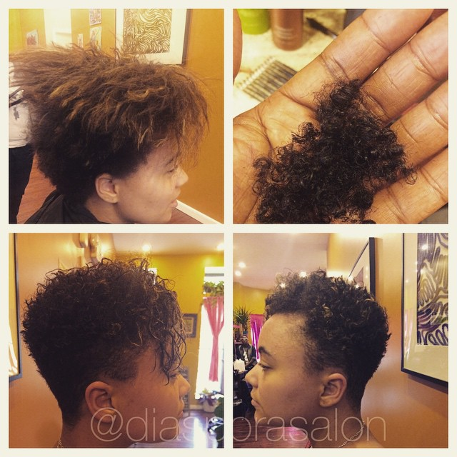 Big Chop to Natural Hair