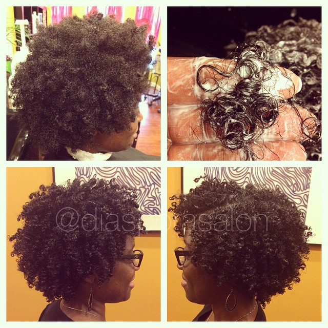 Wash & Go/ Curl Setting on Natural Hair