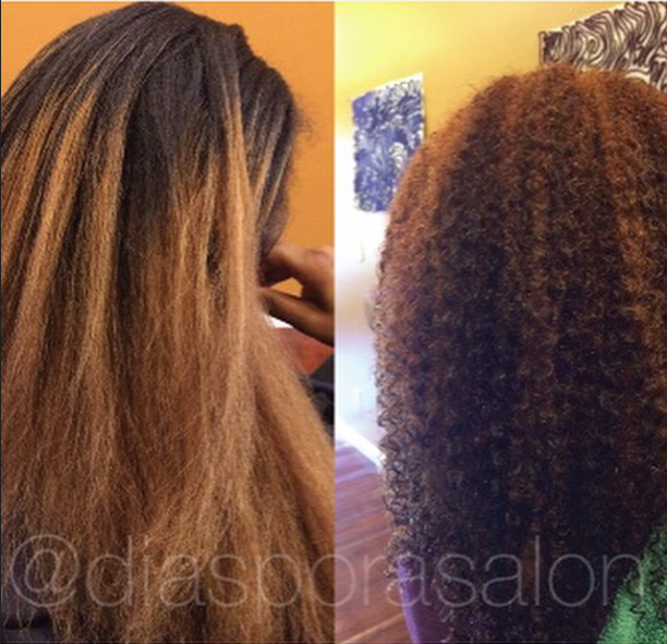Color Correction on Natural Hair