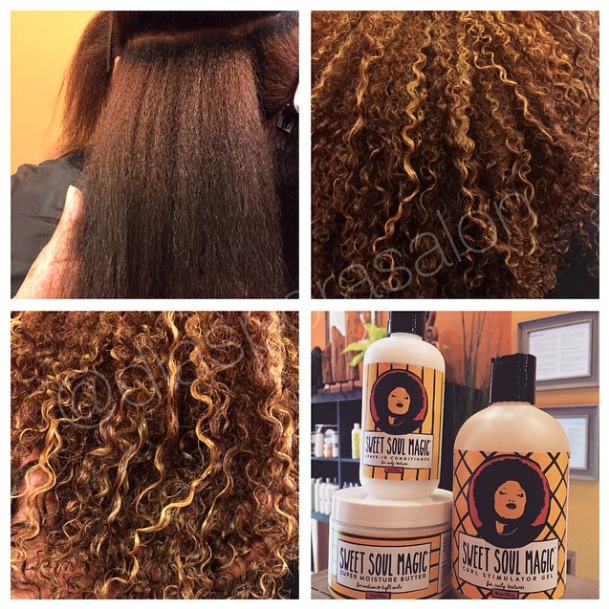 Color Correction, Pintura Highlights + Deva Cut + Curl Setting