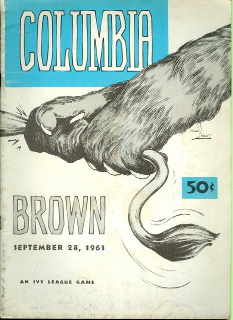 Columbia vs. Brown Ivy League Football Program