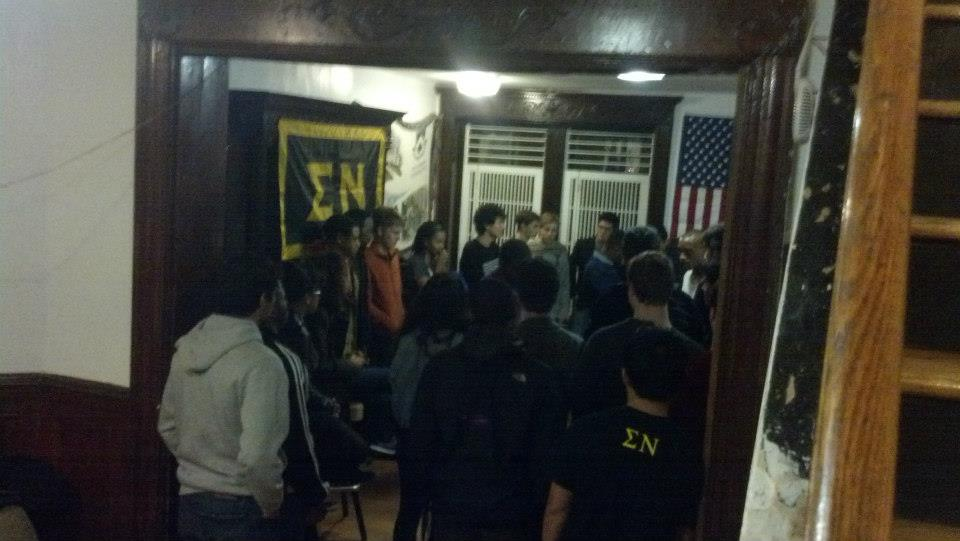 Columbia University Society of Hip Hop Rap Cypher: Columbia CUSH hosted two rap cyphers in our brownstone.