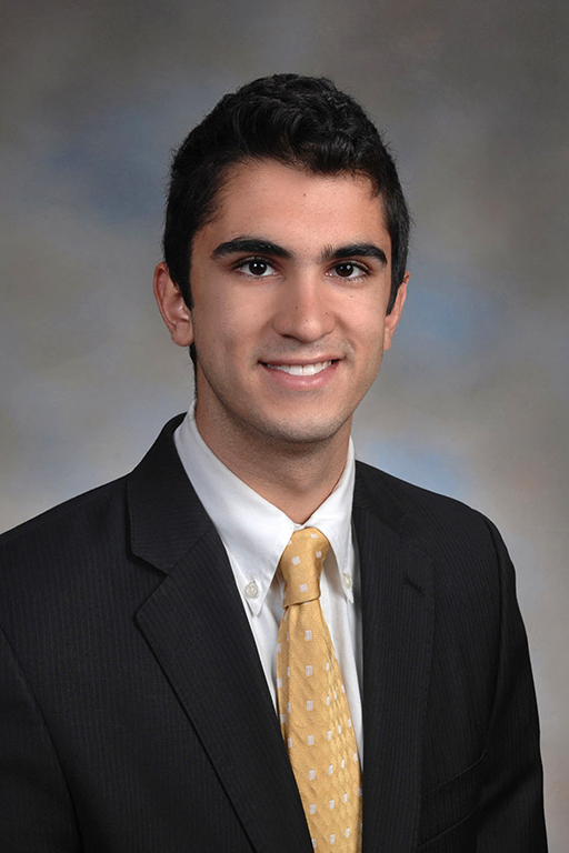 Ryan Madani:   Yo! Ryan Madani is a senior from McLean, Virginia and went to Thomas Jefferson High School for Science and Technology. He studied financial economics. He also enjoys hiking, biking, and appreciating nature.