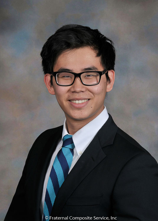 George Liu:   George is a   junior from Miami, Florida. He attended Palmetto Senior High School and is a huge Miami Heat fan. He still isn't sure what he would to study but likes to imagine that he will go to law school.