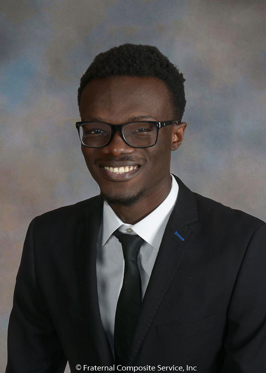 Alfred Adjei-Darko: Alfred is a senior in CC studying Computer Science with a concentration in Music an an interest in going to medical school. He grew up in Ghana but moved to the Bronx, NY in search of a slower-paced, rustic lifestyle. He loves the outdoors, the indoor and everything in between.
