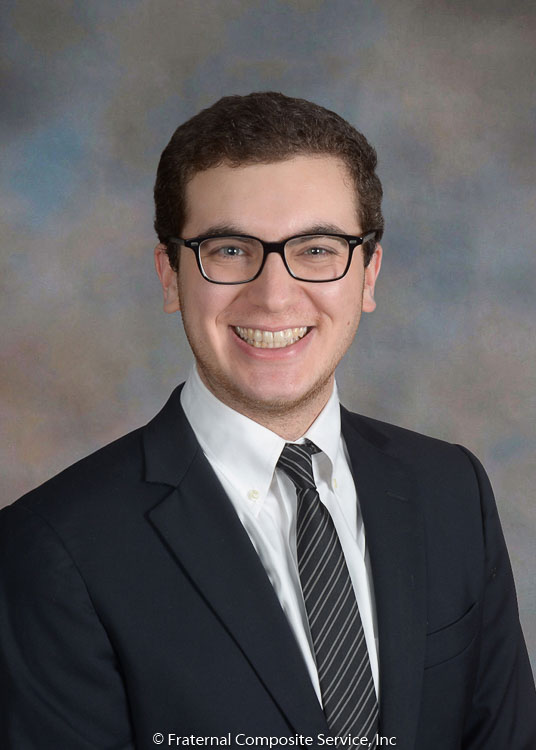 Noah Thaler: Noah hails from Scarsdale, NY and is in the Columbia College Class of 2018. He's a financial economics major. Outside of Sigma Nu, he is a board member of 116th & Partners, a student-run investment group. This past summer, he worked as a Summer Credit Analyst at Monroe Capital. Prior to that, he worked as a Policy Associate with Capalino+Company.