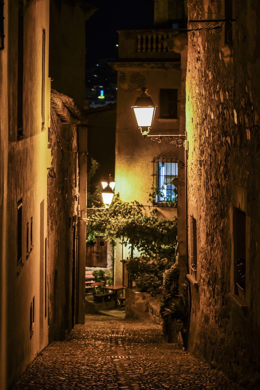 Streets of Castell de Tossa