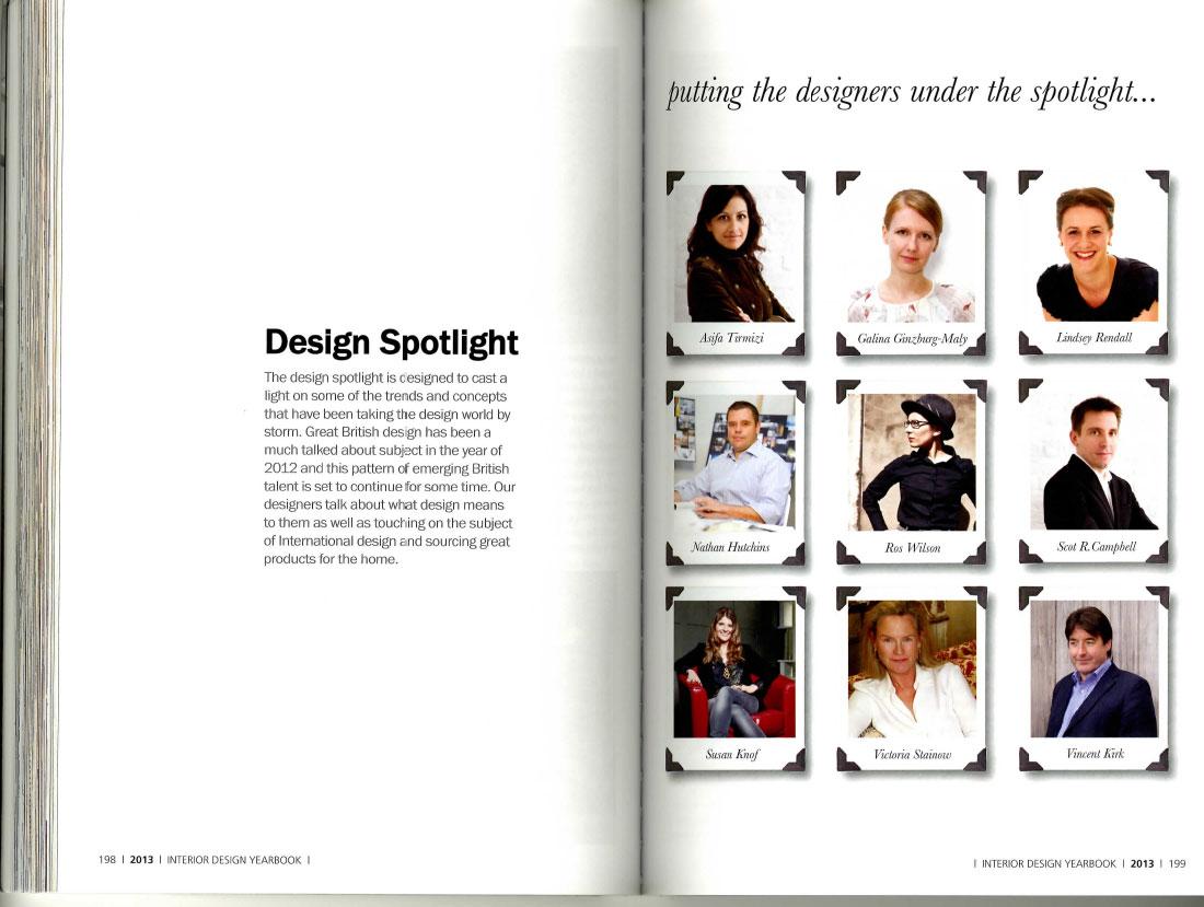 Interior Design Yearbook 2013 4